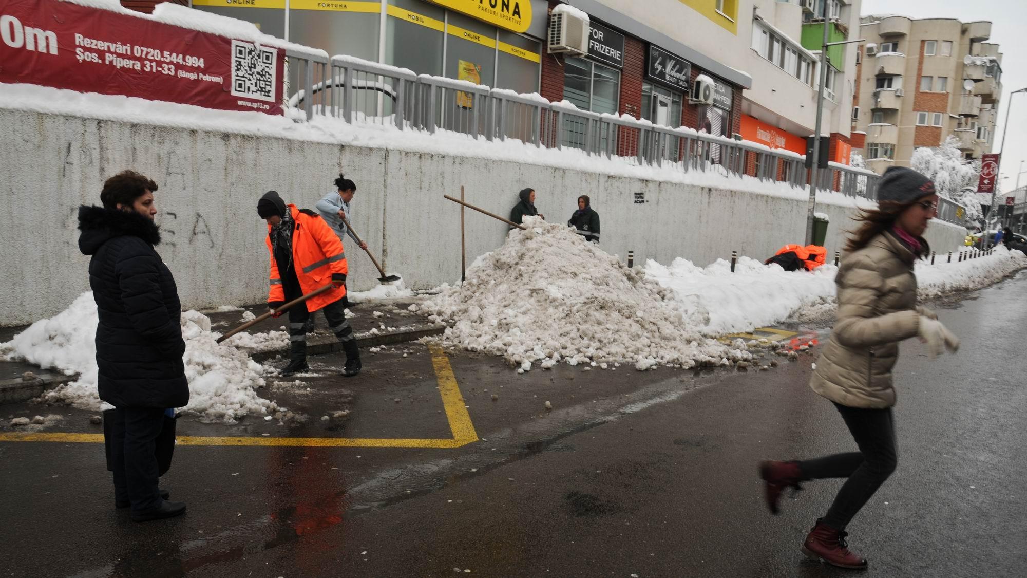 Bucureștiul Sub Zăpadă